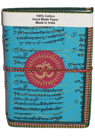 Hindi Script Om Journal | Teal