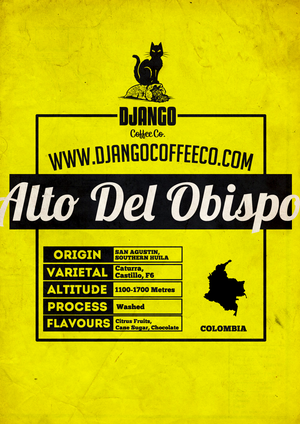 Colombia Alto Del Obispo - Django Coffee Co.