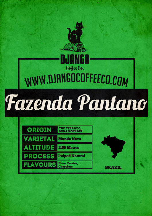 Brazilian Fazenda Pantano - Django Coffee Co.