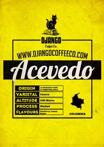 Colombia Acevedo - Django Coffee Co.