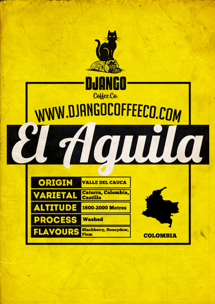 Colombia El Aguila - Django Coffee Co.