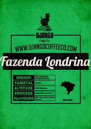 Brazil Fazenda Londrina - Django Coffee Co.