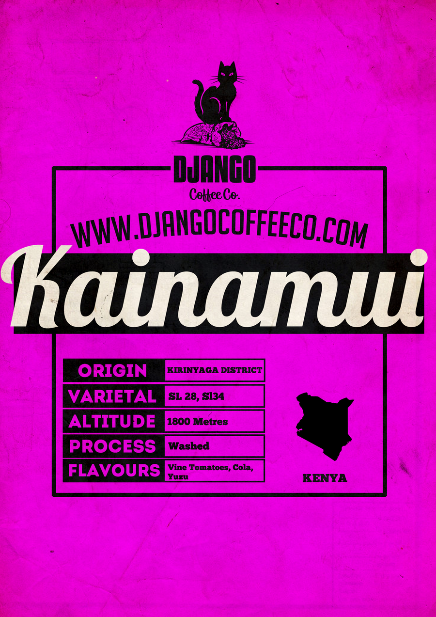 Kenya Kainamui AA - Django Coffee Co.