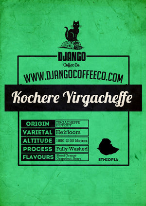 Ethiopian Yirgacheffe - Django Coffee Co.