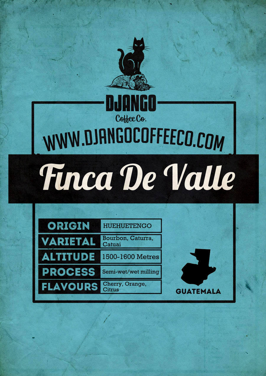 Guatemala Finca De Valle - Django Coffee Co.