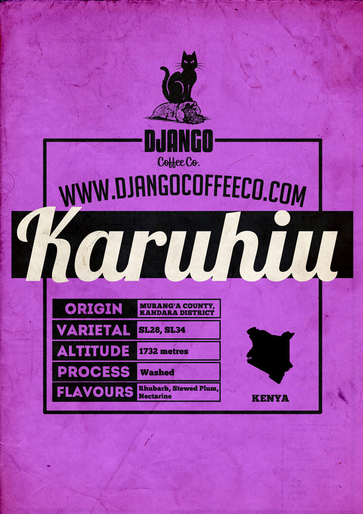 Karuhiu Utheri AB - Django Coffee Co.