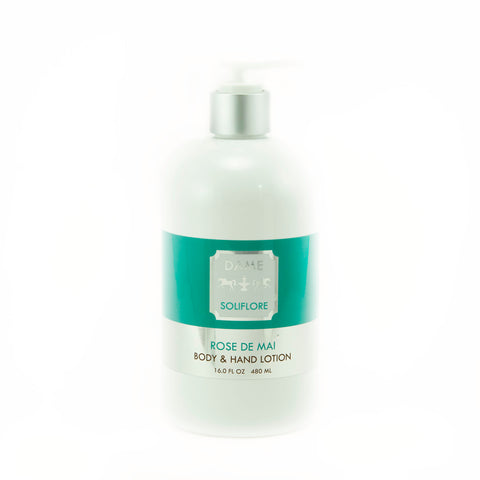 DAME SOLIFLORE Rose de Mai Body and Hand Lotion