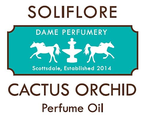 SOLIFLORE Cactus Orchid Perfume Oil 2ml/0.07 fl oz