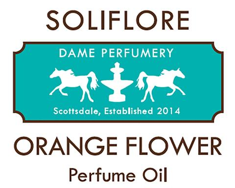 DAME SOLIFLORE Orange Flower