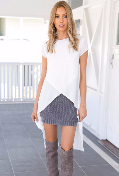 Illuminate Top - White
