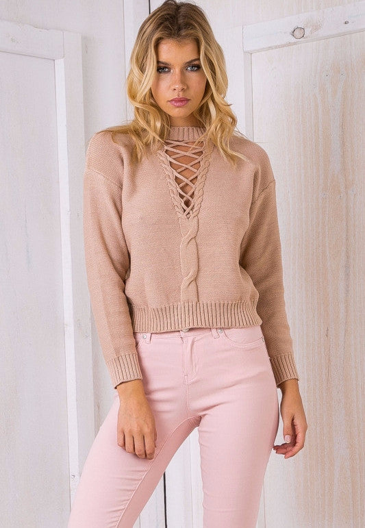 Dynamic Love Knit Beige - Lovecy - 1