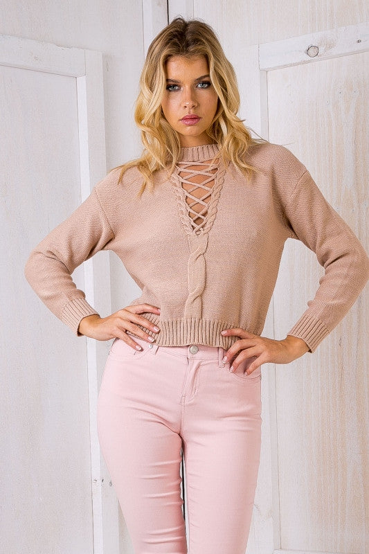 Dynamic Love Knit Beige - Lovecy - 2