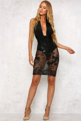 Hamilton Dress Black - Lovecy - 3