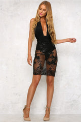 Hamilton Dress Black - Lovecy - 5