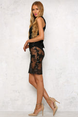 Hamilton Dress Black - Lovecy - 6