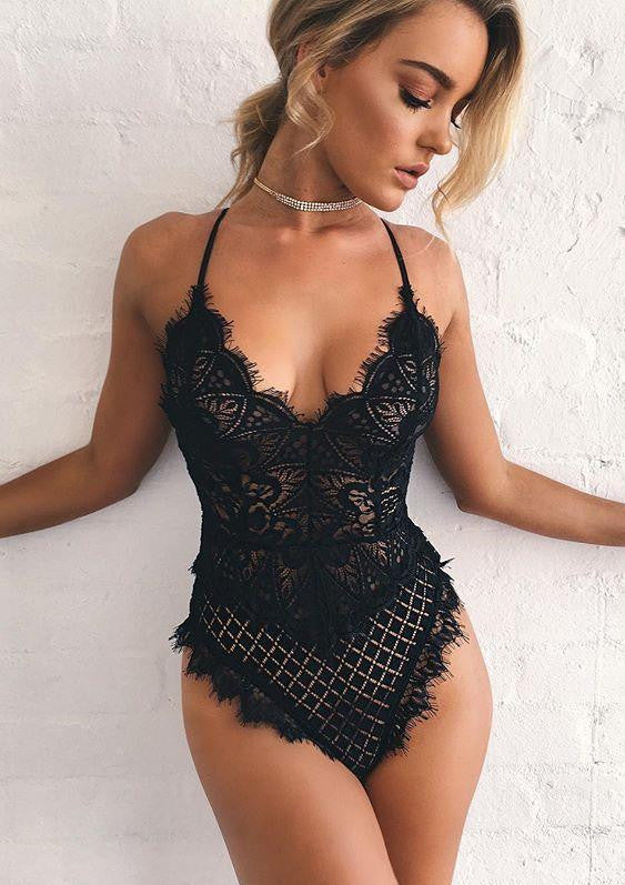 Sonja Bodysuit - Black