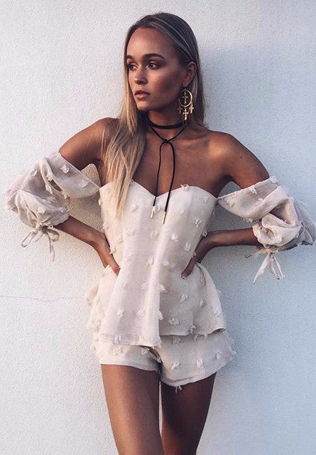 Twice Shy Playsuit