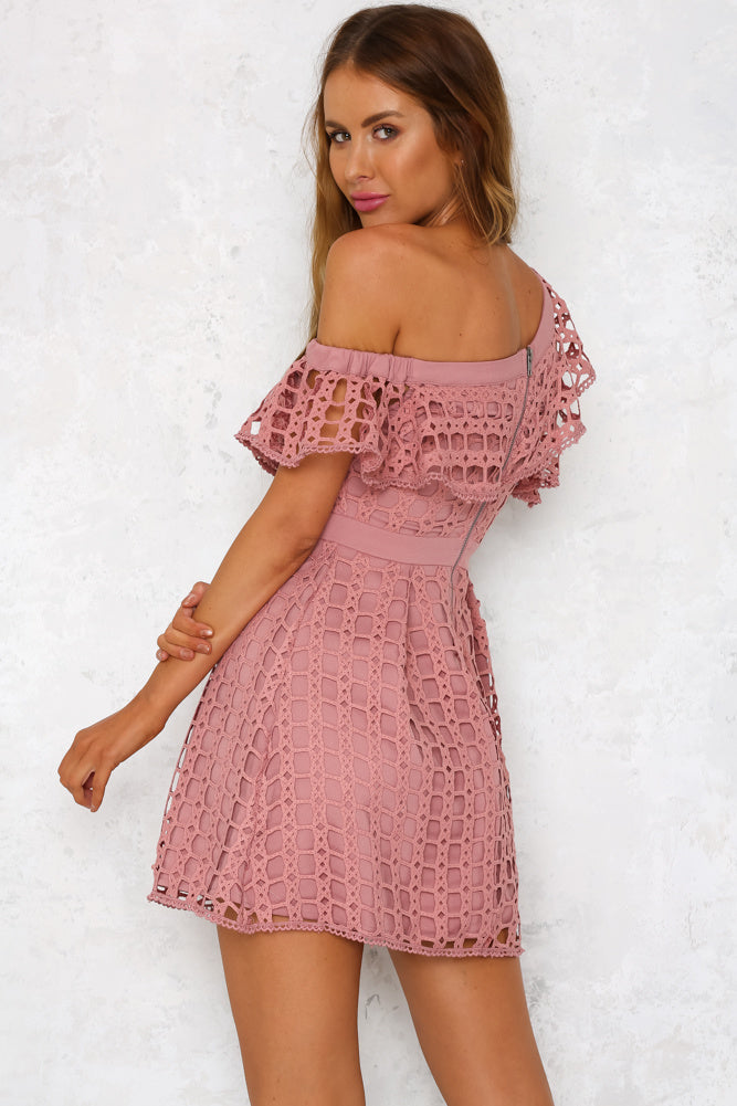 Side To Side Dress Pink