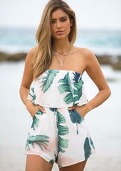 Mandy Playsuit - White