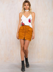 Clio Skirt Tan - Lovecy - 4
