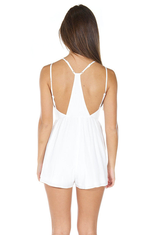 Style Stealer Playsuit - White - Lovecy - 6