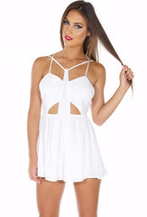 Style Stealer Playsuit - White - Lovecy - 1