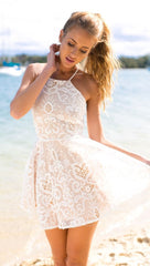 Santorini Lace Dress - Lovecy - 2
