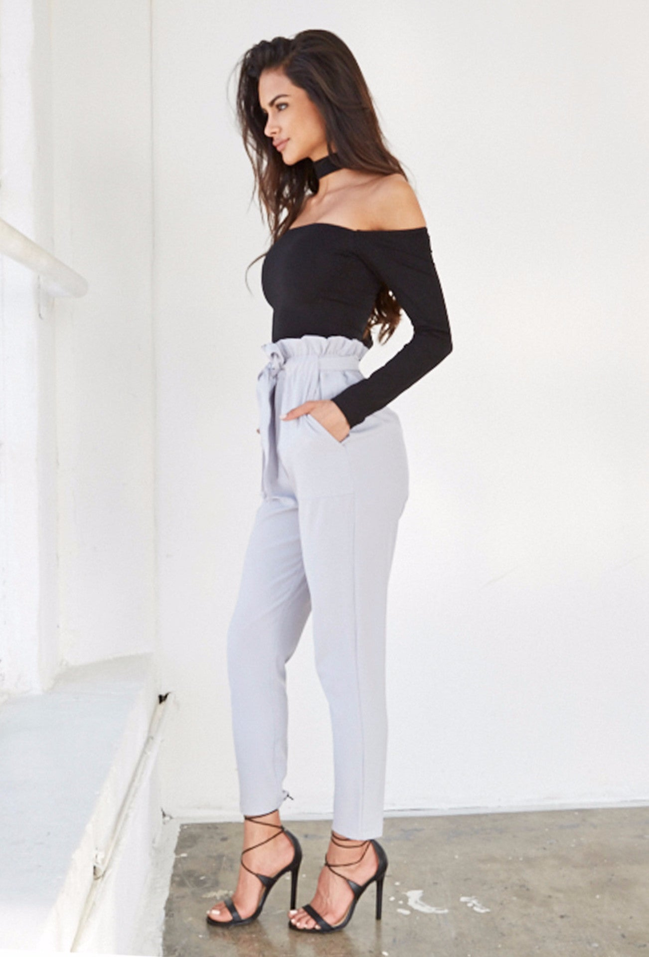 Chelsea Pants - Grey - Lovecy - 3