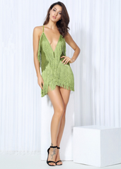 Delilah Dress - Green