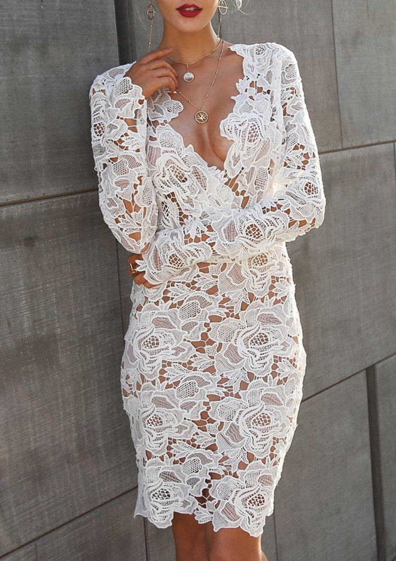 Lacey Bodycon Dress