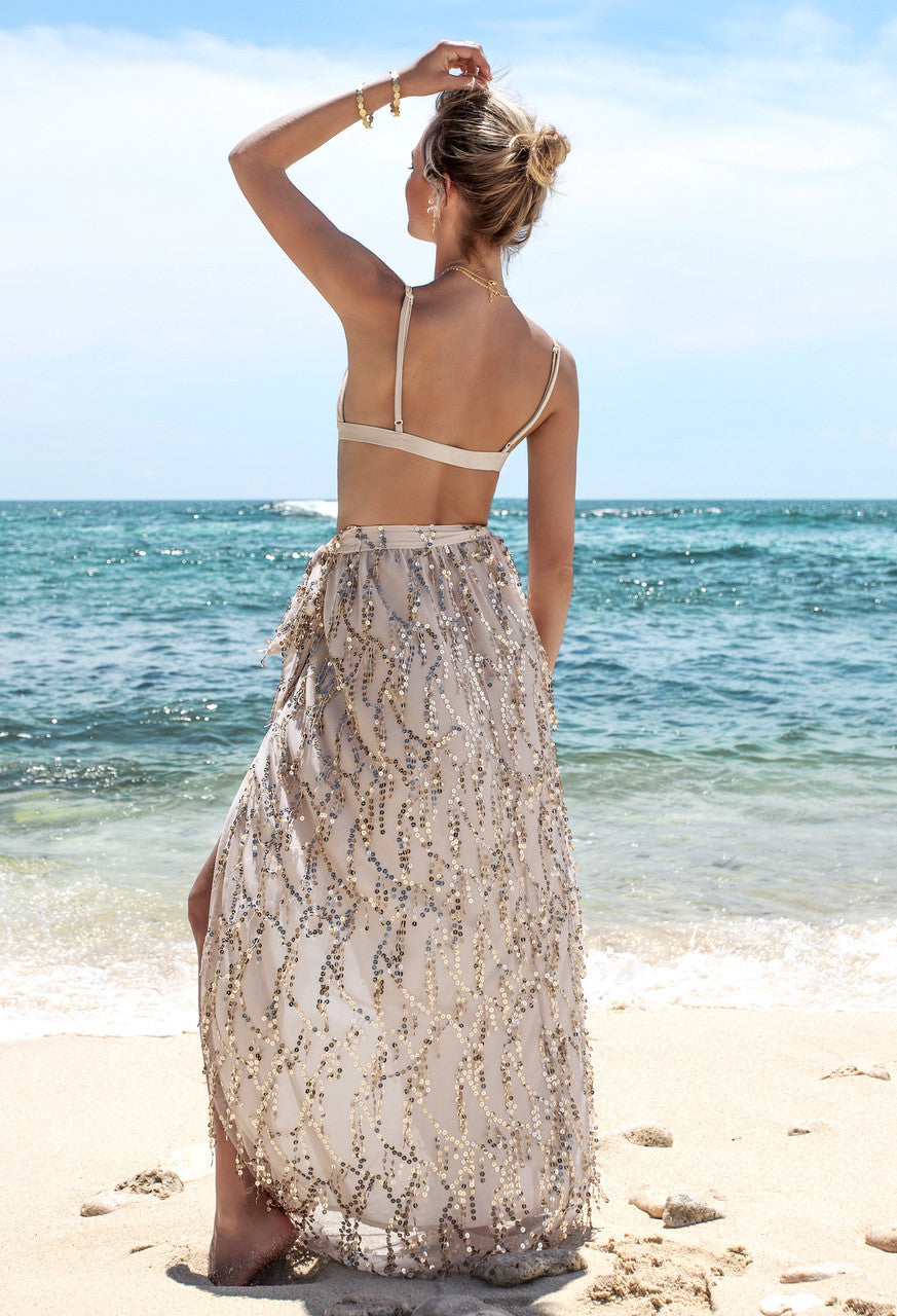 Dana Sequin Maxi Skirt - Lovecy - 5