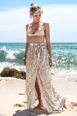 Dana Sequin Maxi Skirt - Lovecy - 3