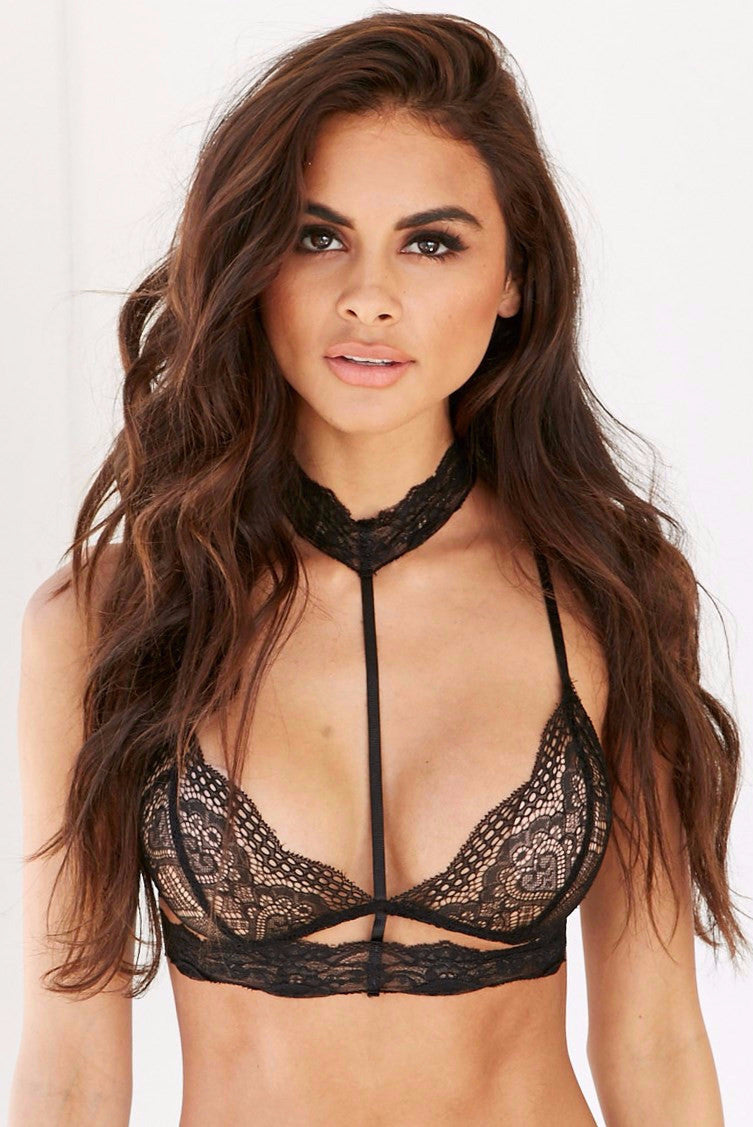 Bella Bralette - Black - Lovecy - 1