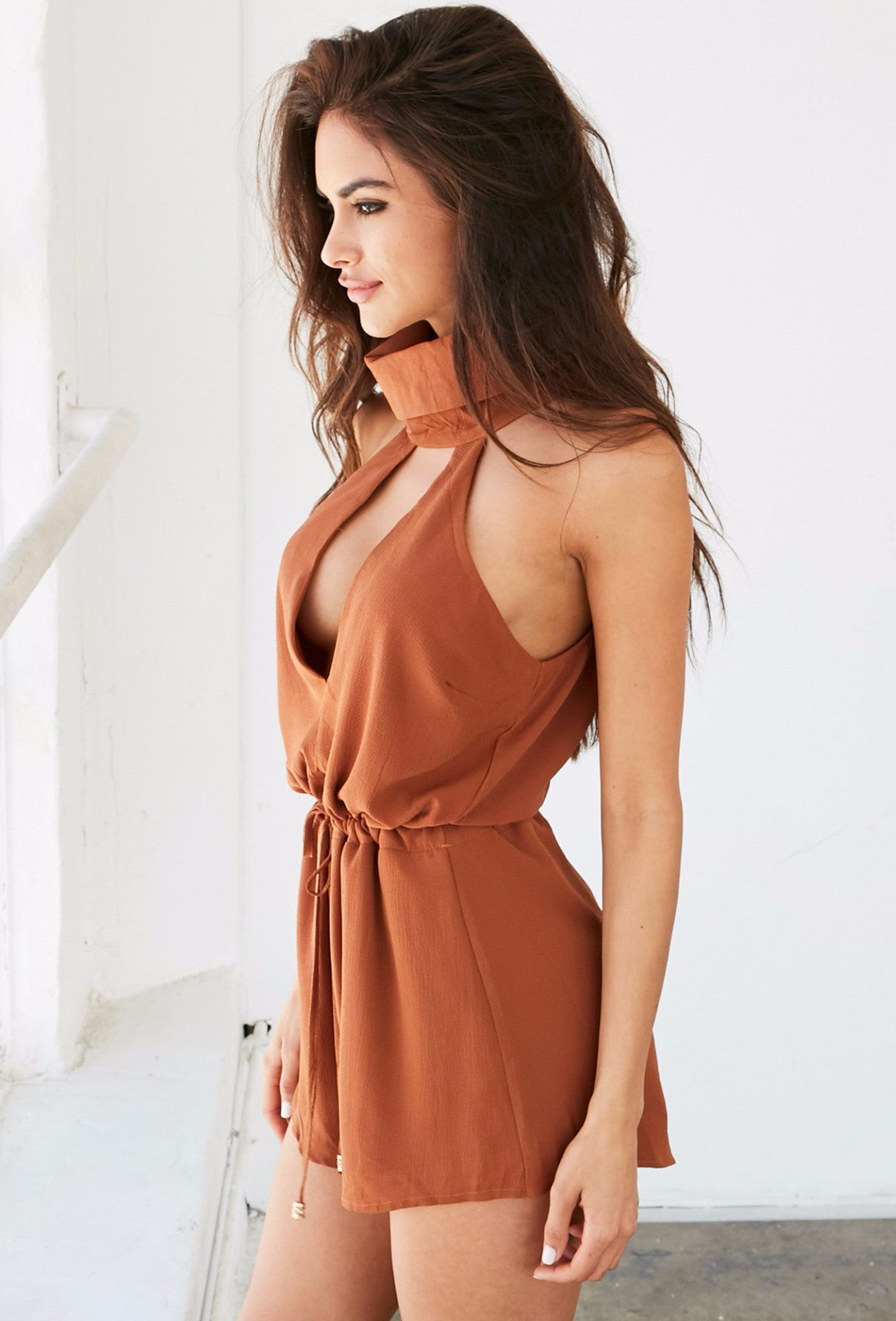 Taylor Playsuit - Orange - Lovecy - 2
