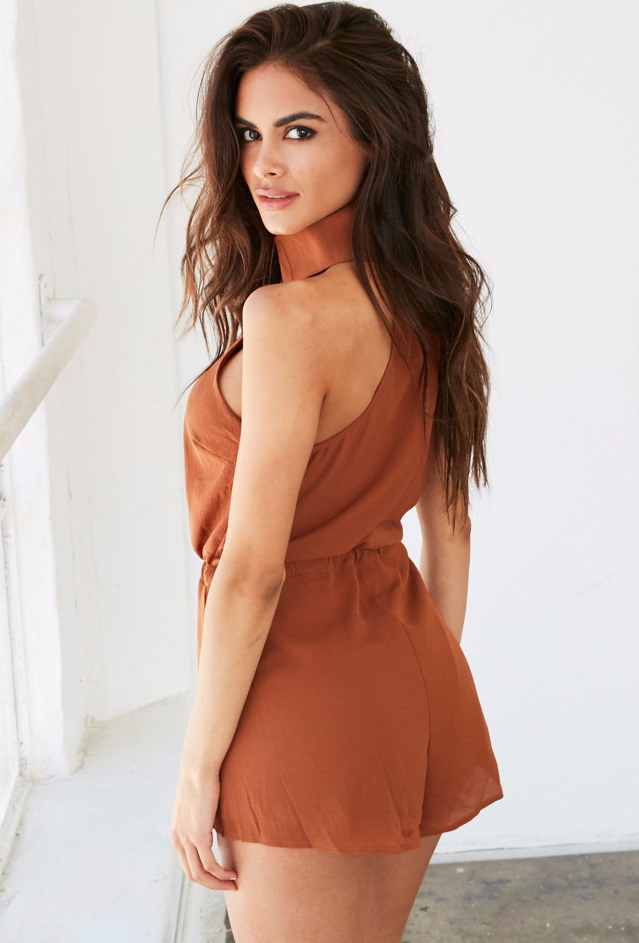 Taylor Playsuit - Orange - Lovecy - 3