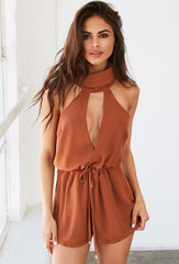 Taylor Playsuit - Orange - Lovecy - 1