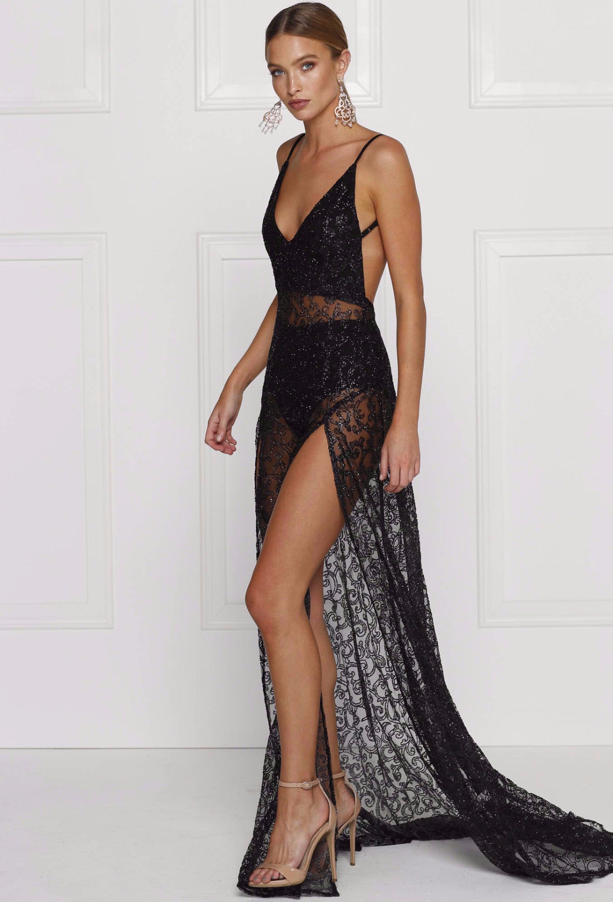 Rozay Gown - Black - Lovecy - 1