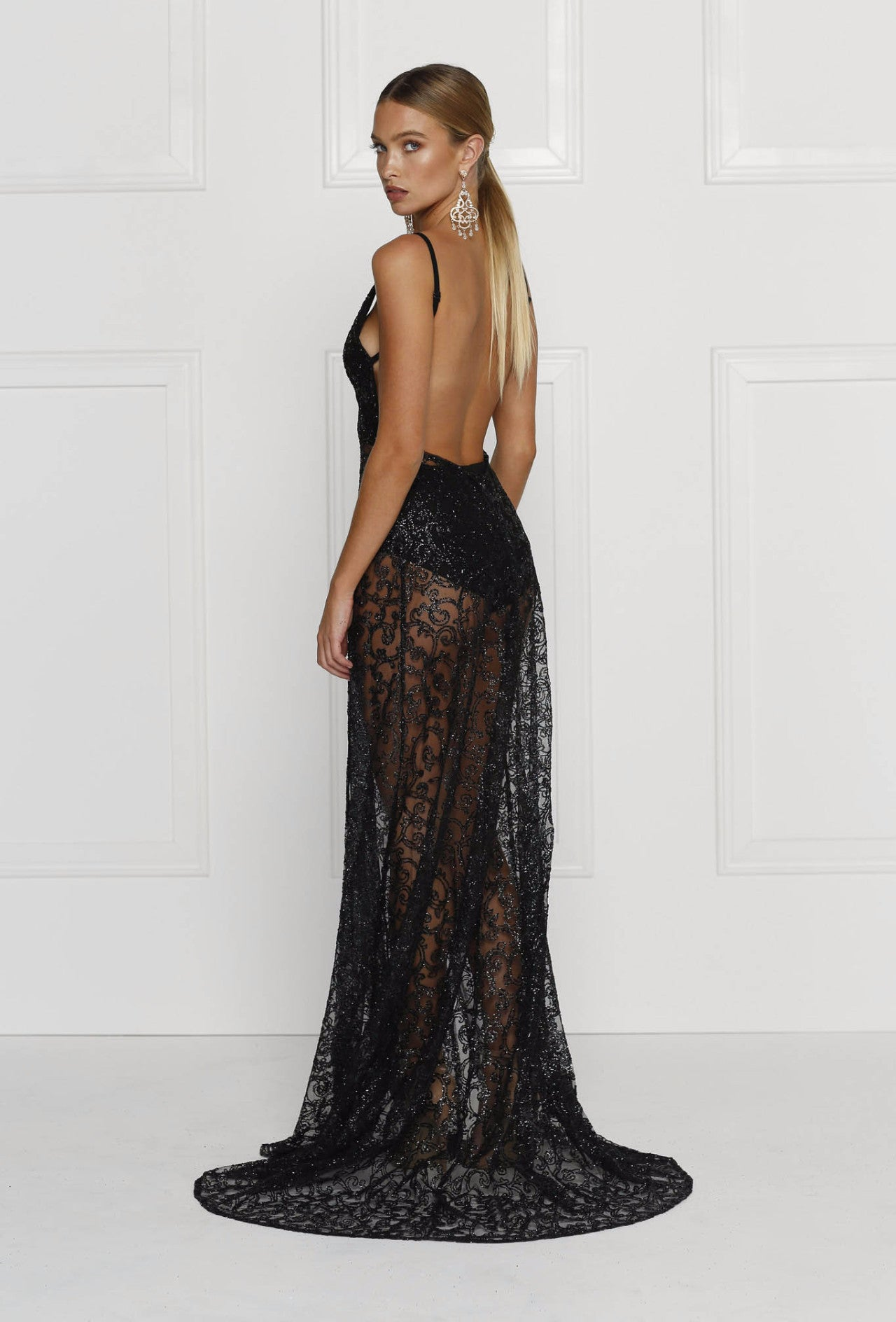 Rozay Gown - Black - Lovecy - 2