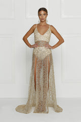 Rozay Gown - Gold - Lovecy - 3