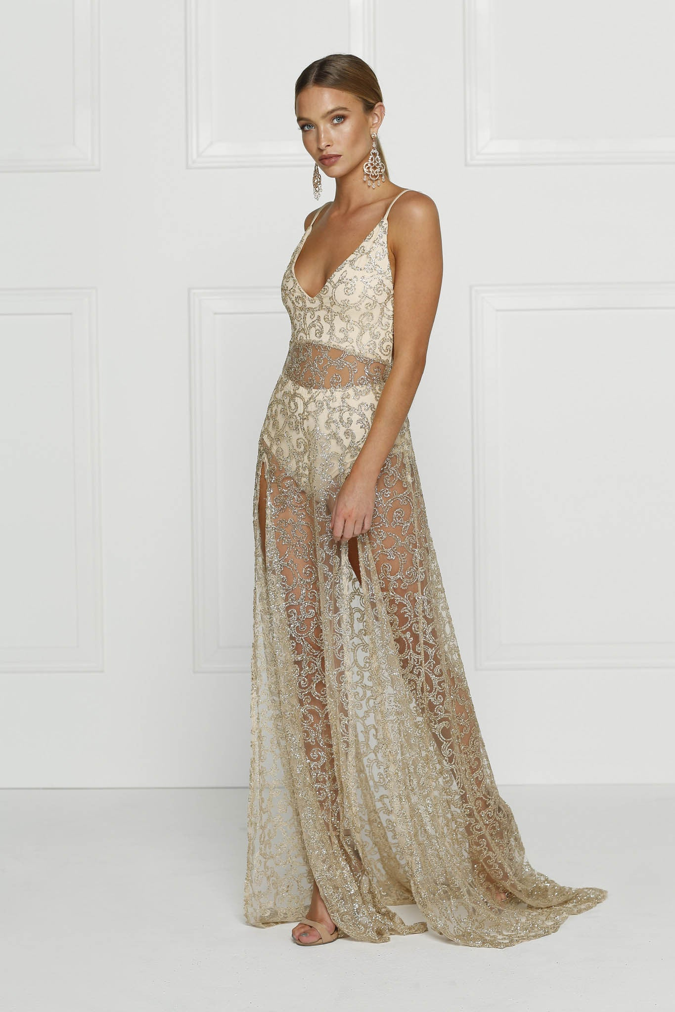 Rozay Gown - Gold - Lovecy - 2