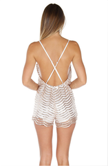 Holly Romper - Silver - Lovecy - 8
