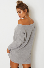 Cape Town Knit Dress - Grey
