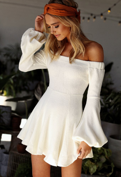 Without You Dress - Ivory