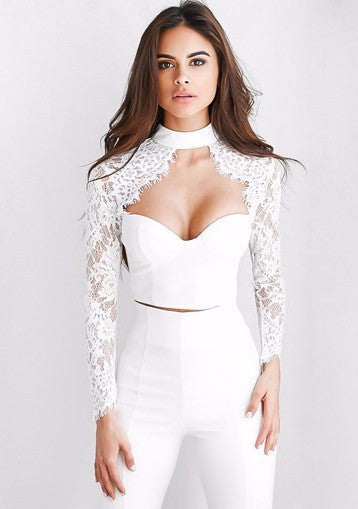Cassidy Top - White