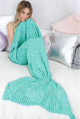 Mermaid Blanket - Teal - Lovecy - 1