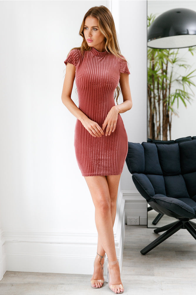 About You Dress - Rose