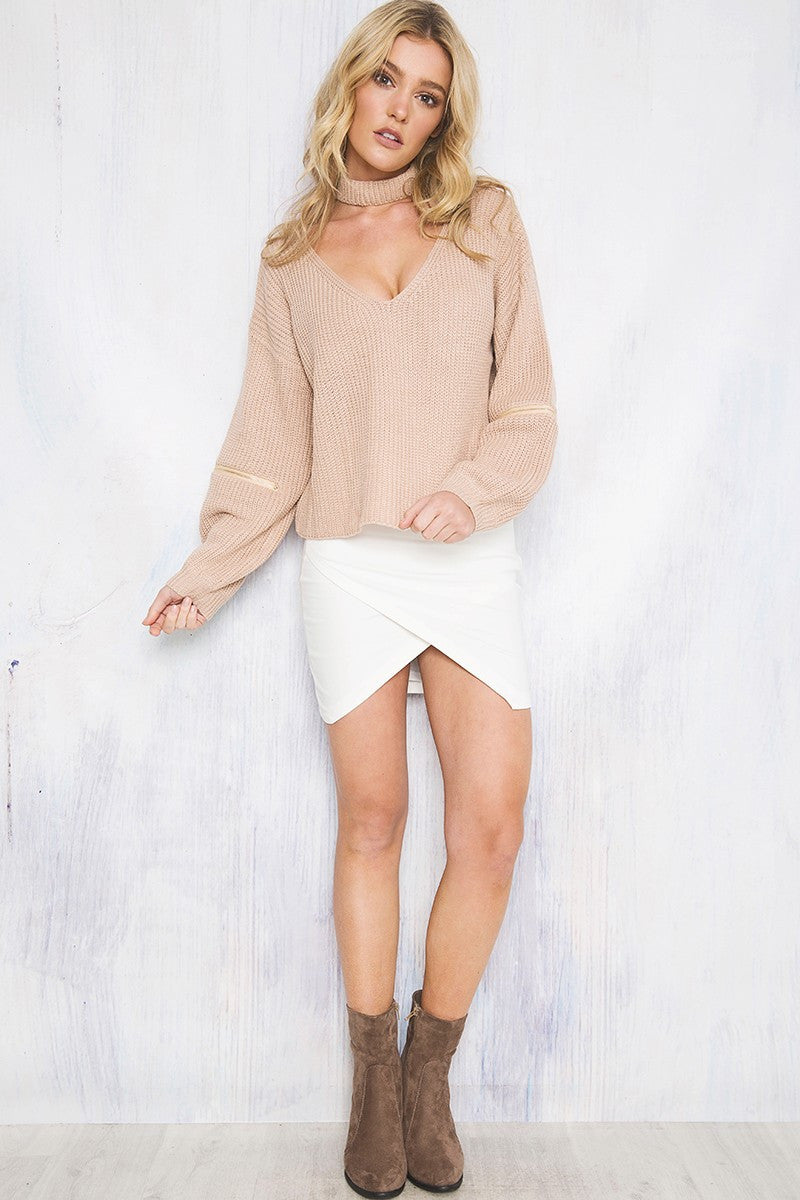Coyote Knit Nude - Lovecy - 5