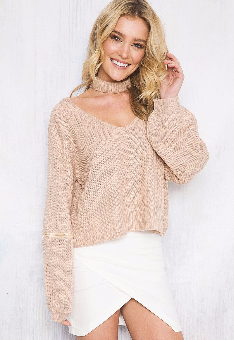 Coyote Knit Nude - Lovecy - 1