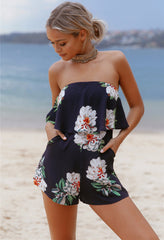 Year Long Summer Playsuit Navy - Lovecy - 1