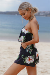 Year Long Summer Playsuit Navy - Lovecy - 3